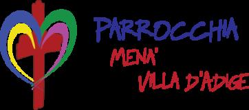 Parrocchie di Menà e Villa D'Adige Logo